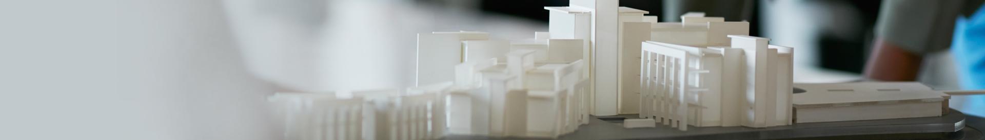 Makieta budynków